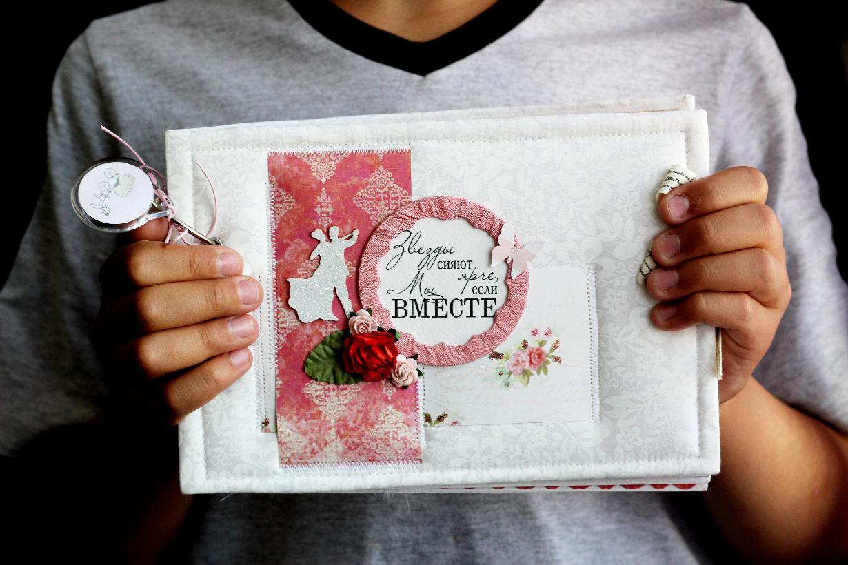 Фотоальбомы своими руками на свадьбу