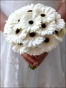 Букет на свадьбу из гербер
