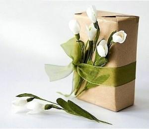 Оригинальная упаковка подарков на свадьбу