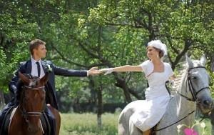 фотосессия на конной прогулке