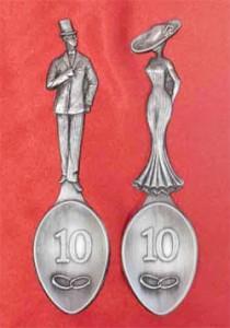 ложки оловянная свадьба 10 лет