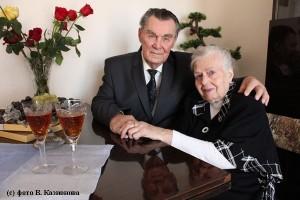 Благодатная свадьба: вместе 70 лет