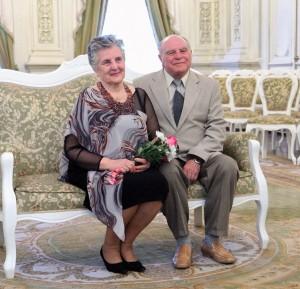 Поздравление супругов