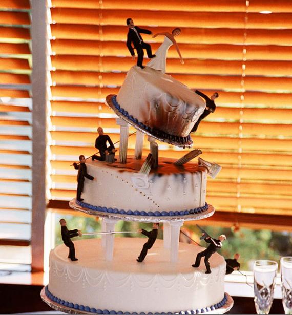 Свадебные торты - история