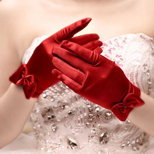 Short-red-finger-bridal-gloves-flower-girl-bridesmaid-wedding-glove-women-lady-dancing-party-performance-glove