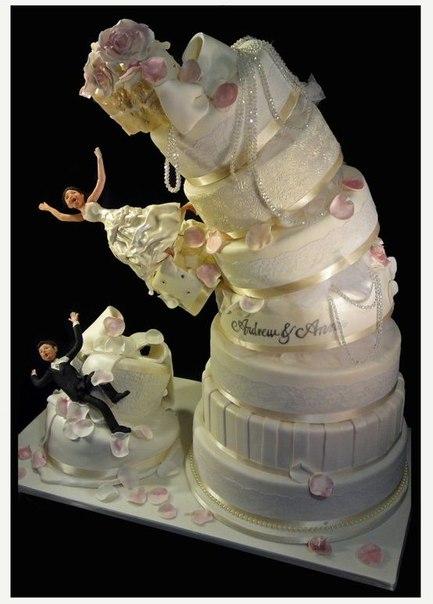 Как сделать торт свадебный